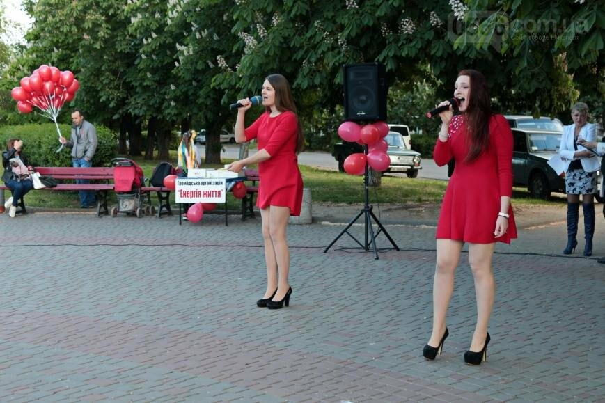 Всемирный день памяти людей, умерших от СПИДа, в Никополе, фото-6