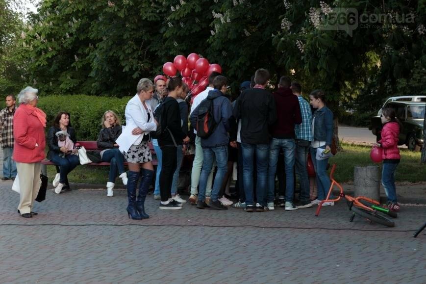Всемирный день памяти людей, умерших от СПИДа, в Никополе, фото-8