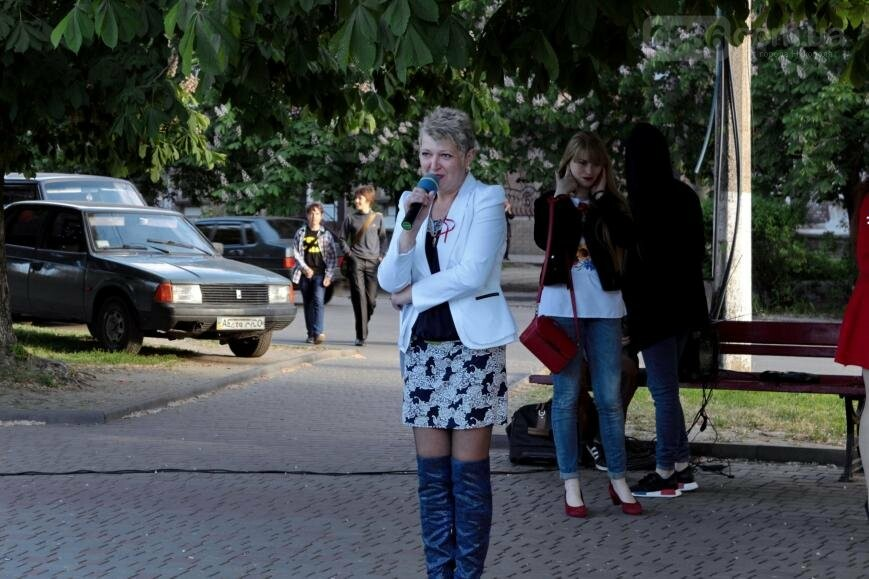 Всемирный день памяти людей, умерших от СПИДа, в Никополе, фото-9