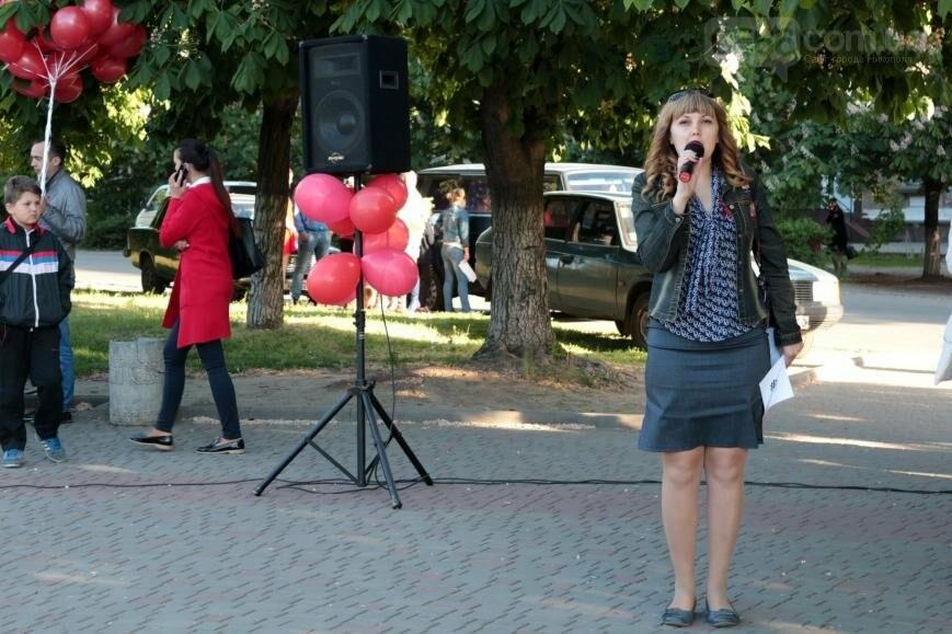Всемирный день памяти людей, умерших от СПИДа, в Никополе, фото-10