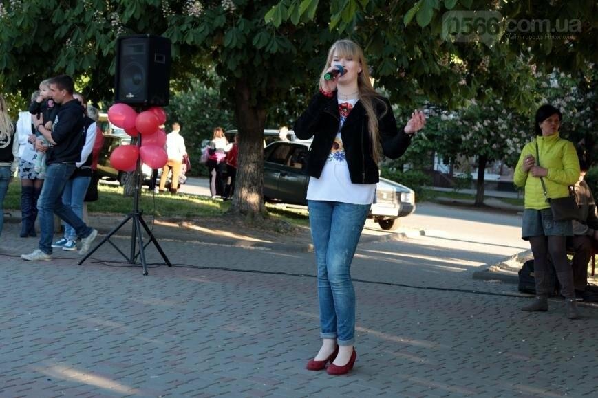 Всемирный день памяти людей, умерших от СПИДа, в Никополе, фото-12