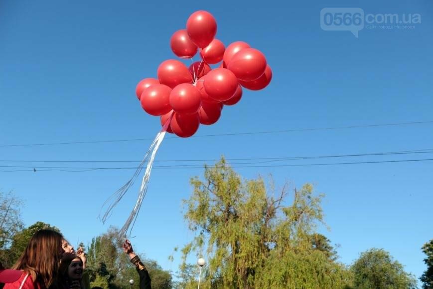 Всемирный день памяти людей, умерших от СПИДа, в Никополе, фото-14