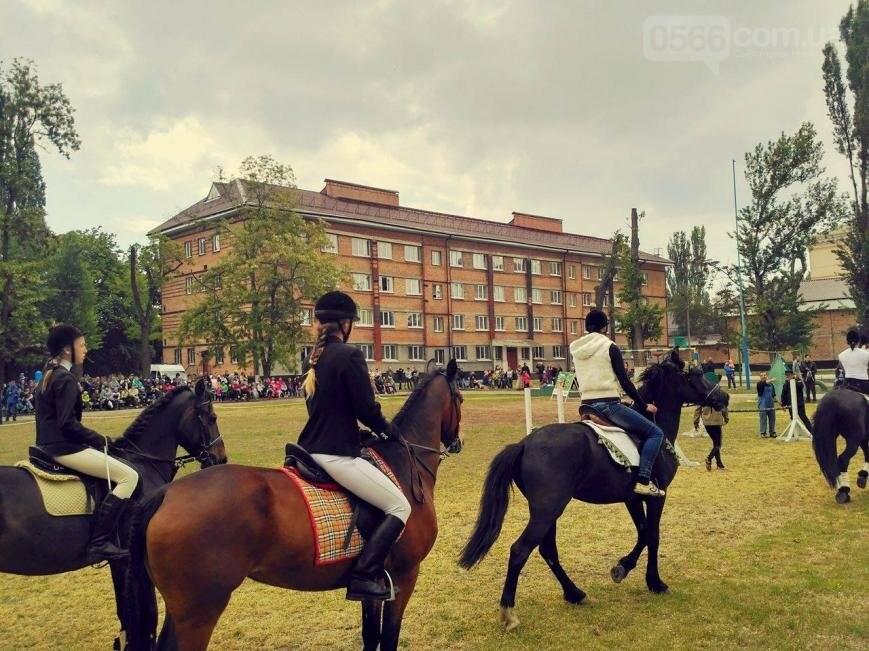 Кинологическое и конное шоу ко дню пограничника в Никополе, фото-3