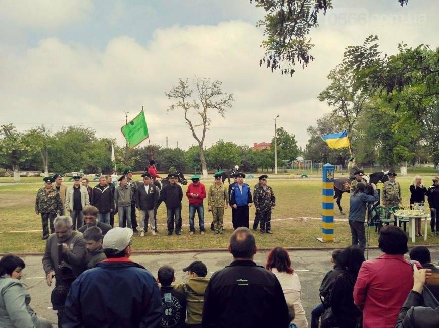 Кинологическое и конное шоу ко дню пограничника в Никополе, фото-4