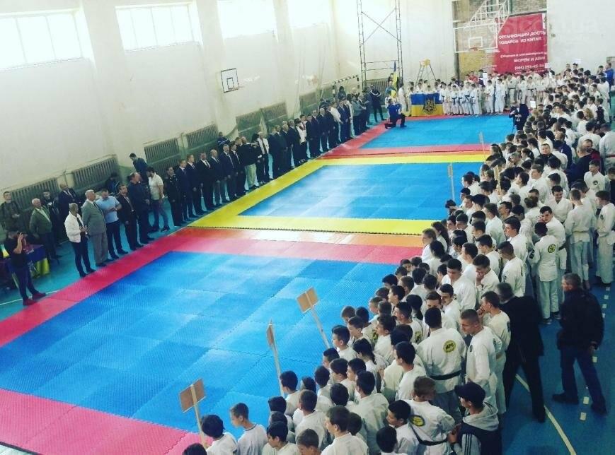 Никополь принял участие в чемпионате Украины по рукопашному бою, фото-1