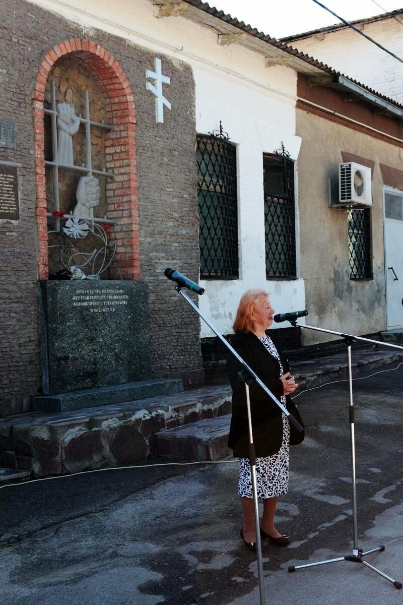 Митинг ко Дню памяти жертв политических репрессий в Никополе, фото-7