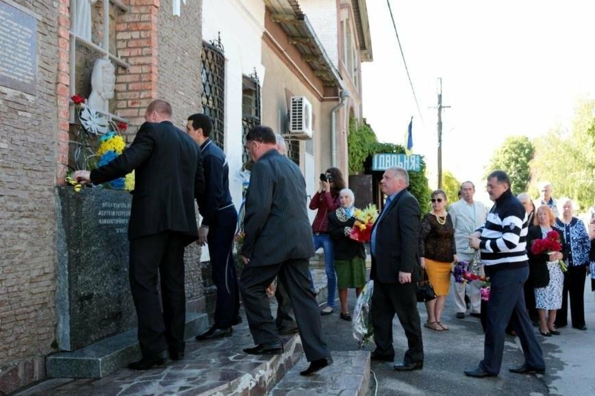Митинг ко Дню памяти жертв политических репрессий в Никополе, фото-10