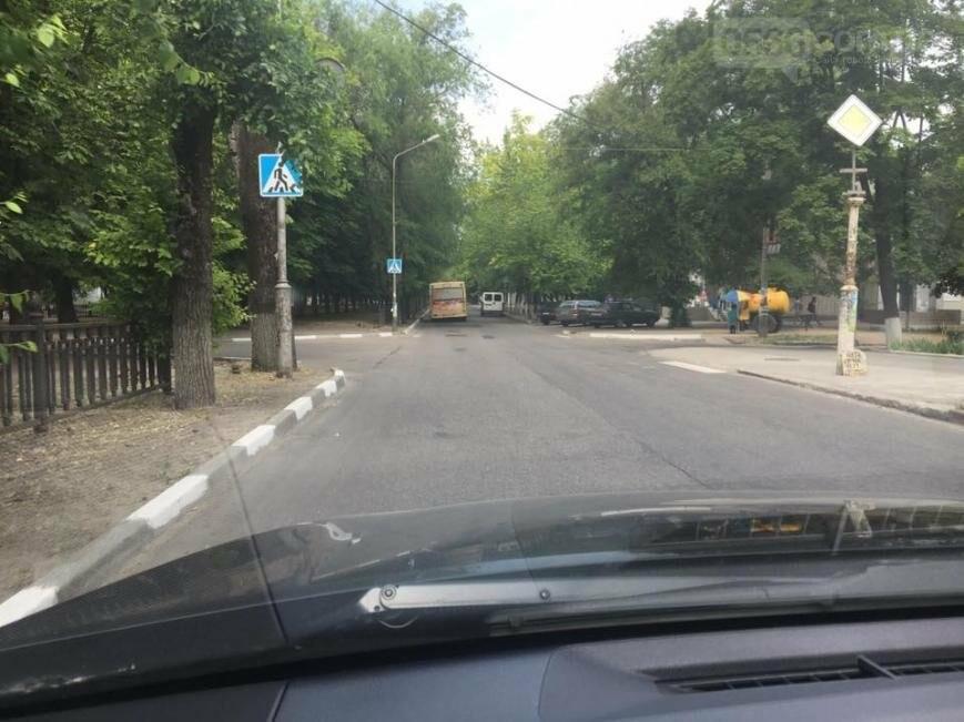 Куда уходят зебры: На перекрёстках Никополя без разметки пешеходных переходов нет, фото-3