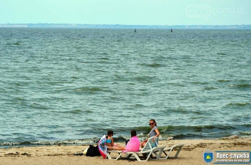 Нікопольські пляжі офіційно готові зустрічати відпочивальників, фото-4