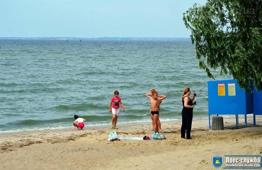 Нікопольські пляжі офіційно готові зустрічати відпочивальників, фото-3