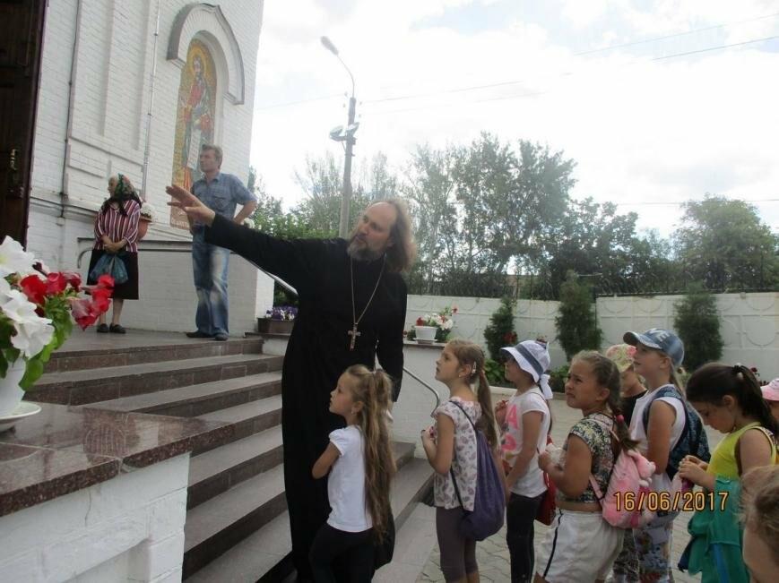 Никопольские школьники могут узнать больше об истории, устройстве и чтимых иконах Спасо-Преображенского собора, фото-6