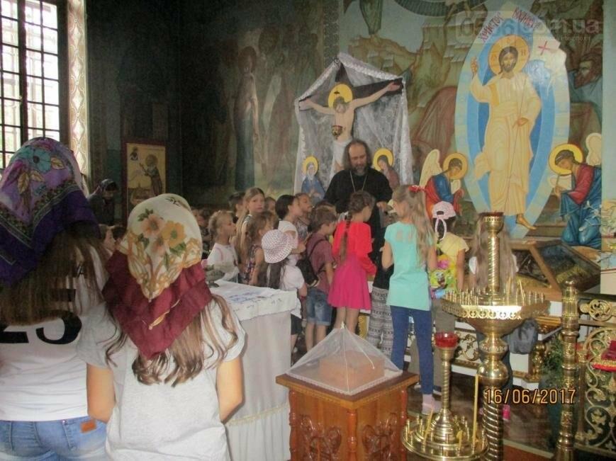 Никопольские школьники могут узнать больше об истории, устройстве и чтимых иконах Спасо-Преображенского собора, фото-13