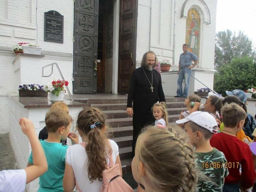 Никопольские школьники могут узнать больше об истории, устройстве и чтимых иконах Спасо-Преображенского собора, фото-4