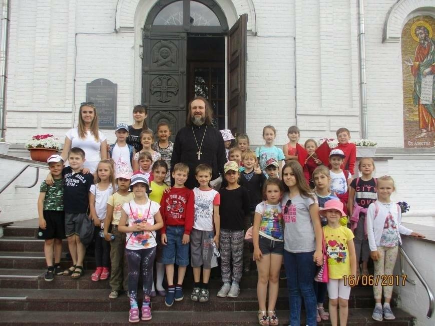 Никопольские школьники могут узнать больше об истории, устройстве и чтимых иконах Спасо-Преображенского собора, фото-18