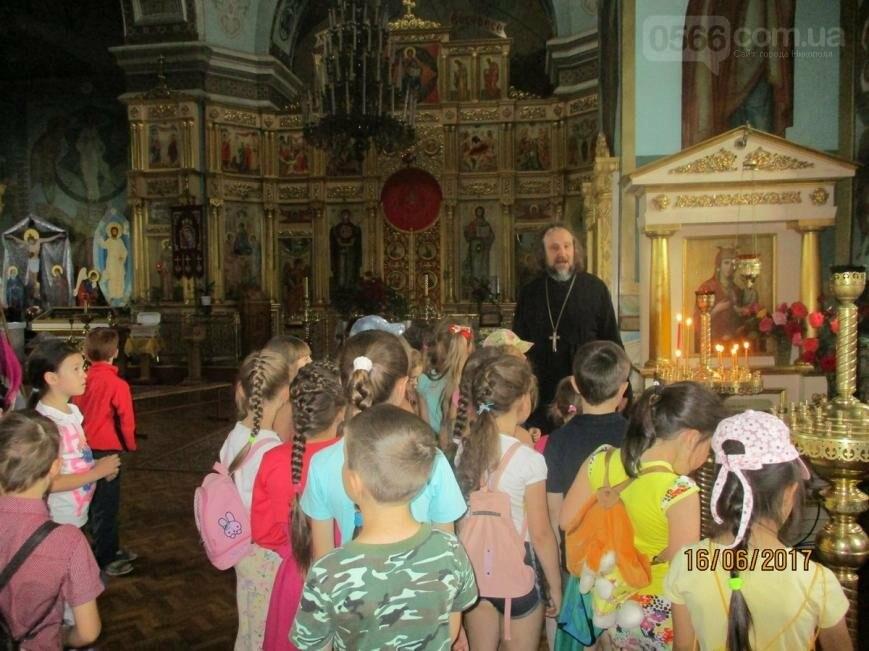 Никопольские школьники могут узнать больше об истории, устройстве и чтимых иконах Спасо-Преображенского собора, фото-15
