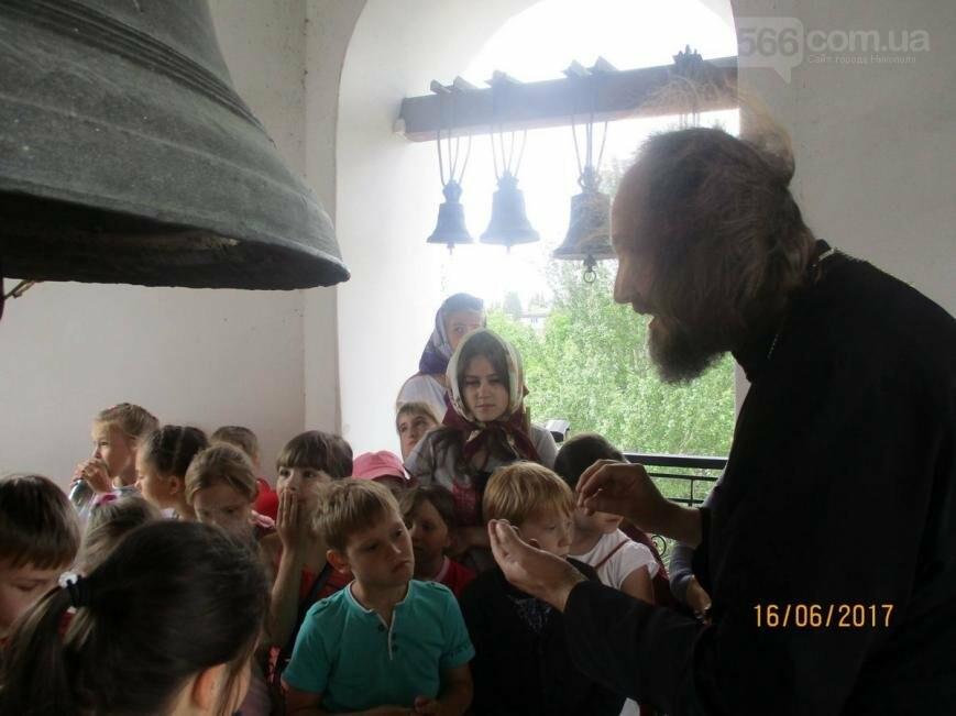 Никопольские школьники могут узнать больше об истории, устройстве и чтимых иконах Спасо-Преображенского собора, фото-8