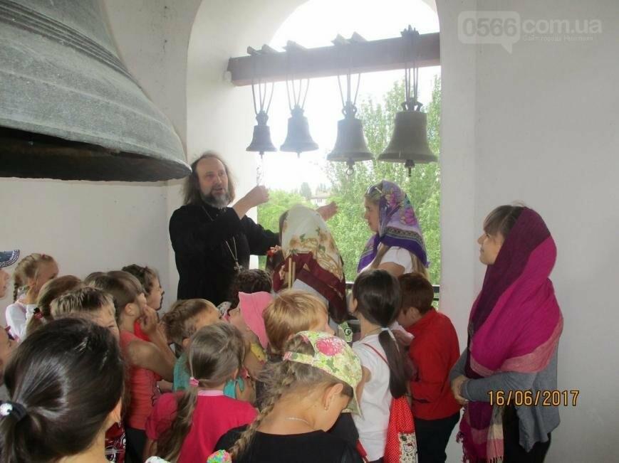 Никопольские школьники могут узнать больше об истории, устройстве и чтимых иконах Спасо-Преображенского собора, фото-9