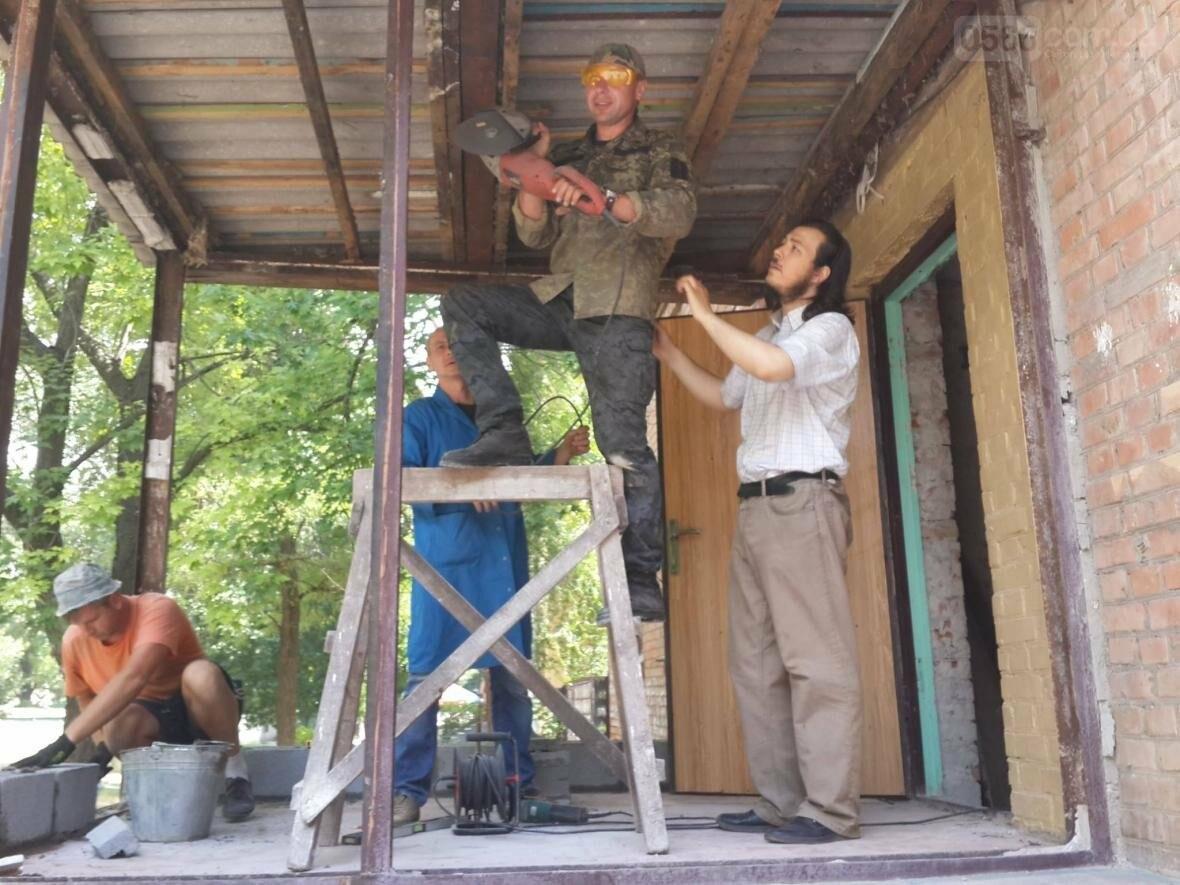 В Нікополі активно ведеться будівництво українського храму на честь учасників бойових дій Нікопольщини, фото-1