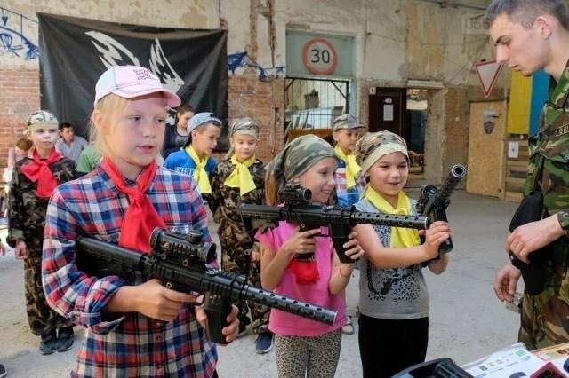 Дітей  АТОвців запрошують зіграти в лазертаг, фото-1