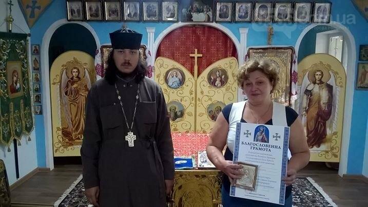 В  Храмі Петра Калнишевського відзначили команду жертводавця , фото-1