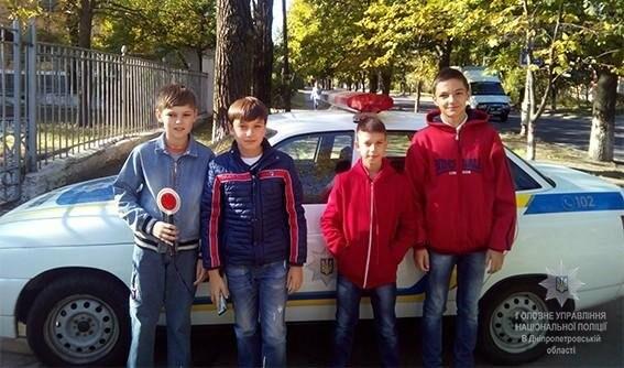Пізнавальні ігри разом з працівниками ювенальної превенції Нікопольського відділу поліції, фото-5