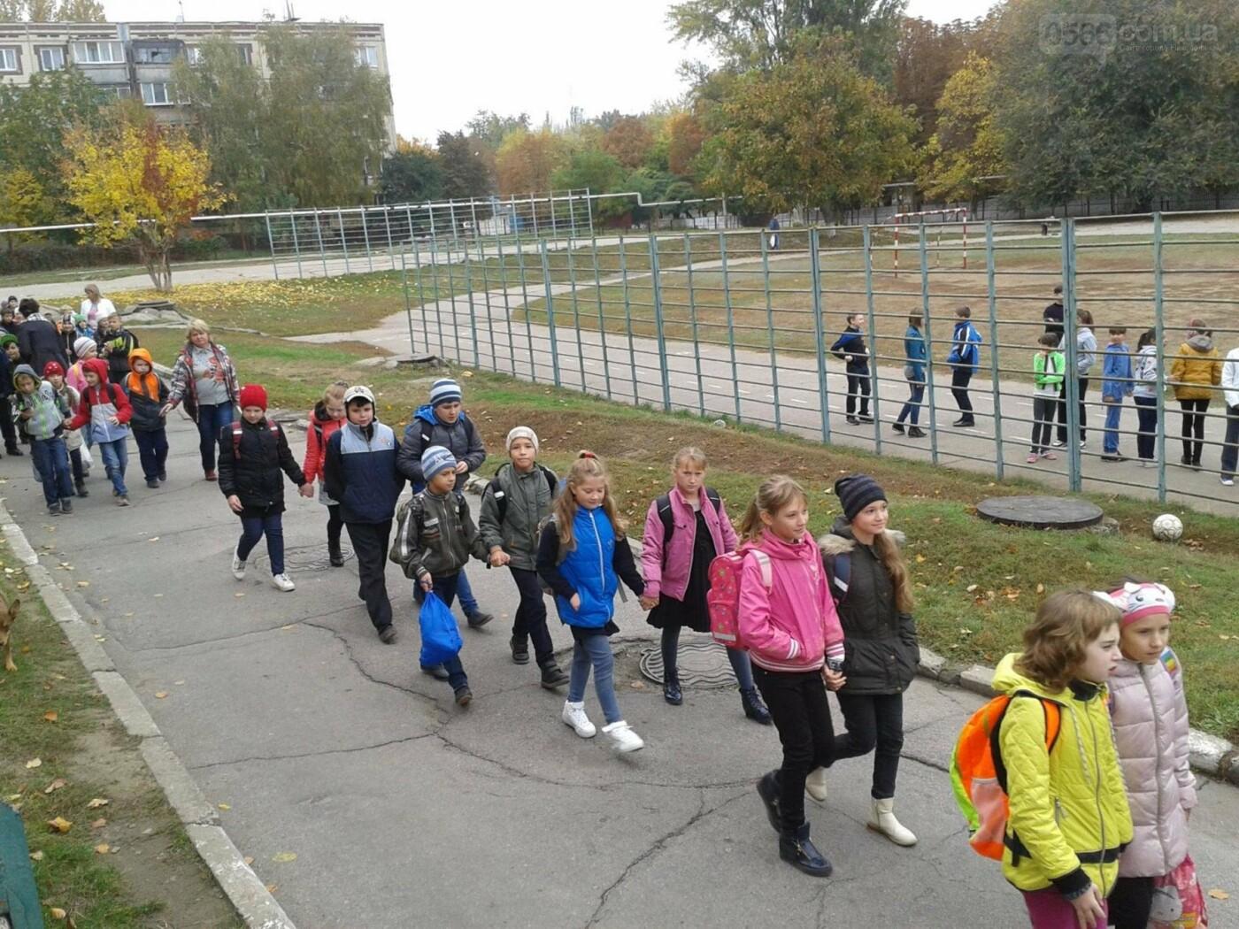 В Нікопольській школі напередодні осінніх канікул згадували правила безпеки, фото-1