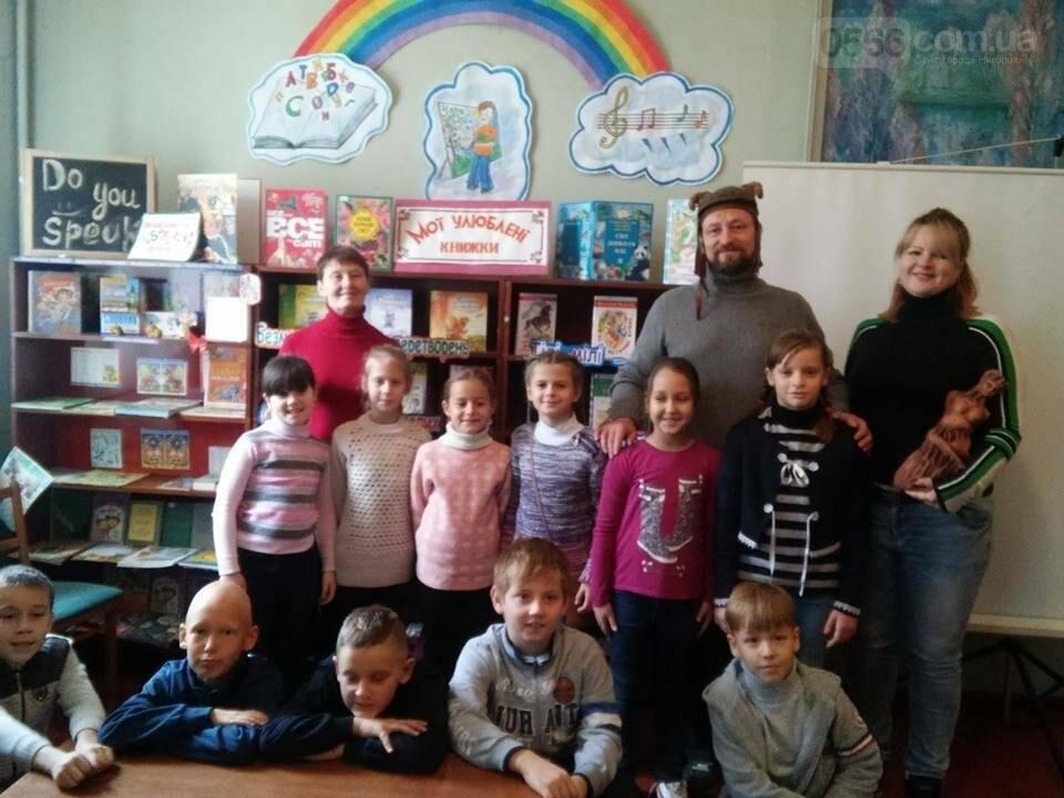 Мистецька зустріч дітей та скульптора в Нікополі , фото-1