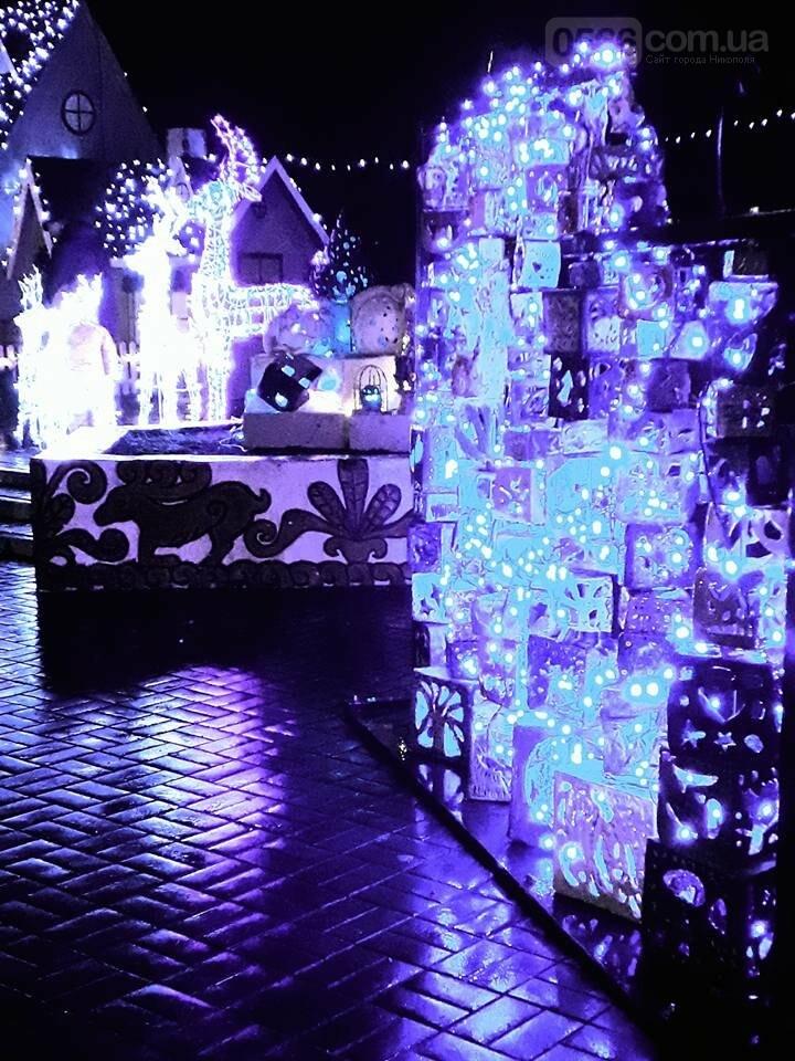 Новорічний «Фонарь-фест» в Нікополі, фото-1