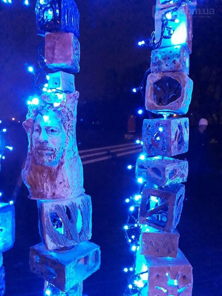 Новорічний «Фонарь-фест» в Нікополі, фото-5