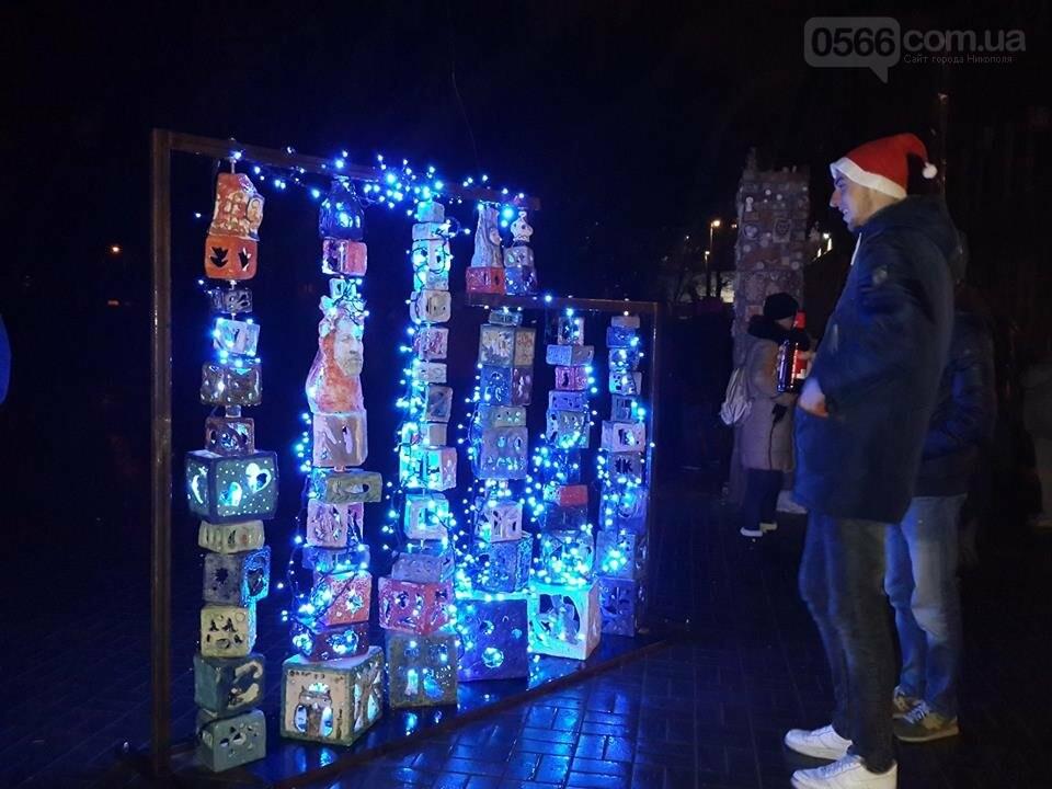 Новорічний «Фонарь-фест» в Нікополі, фото-3