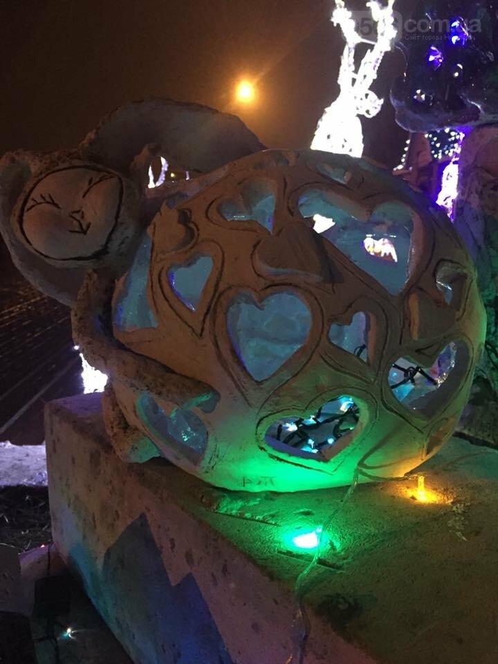Новорічний «Фонарь-фест» в Нікополі, фото-4