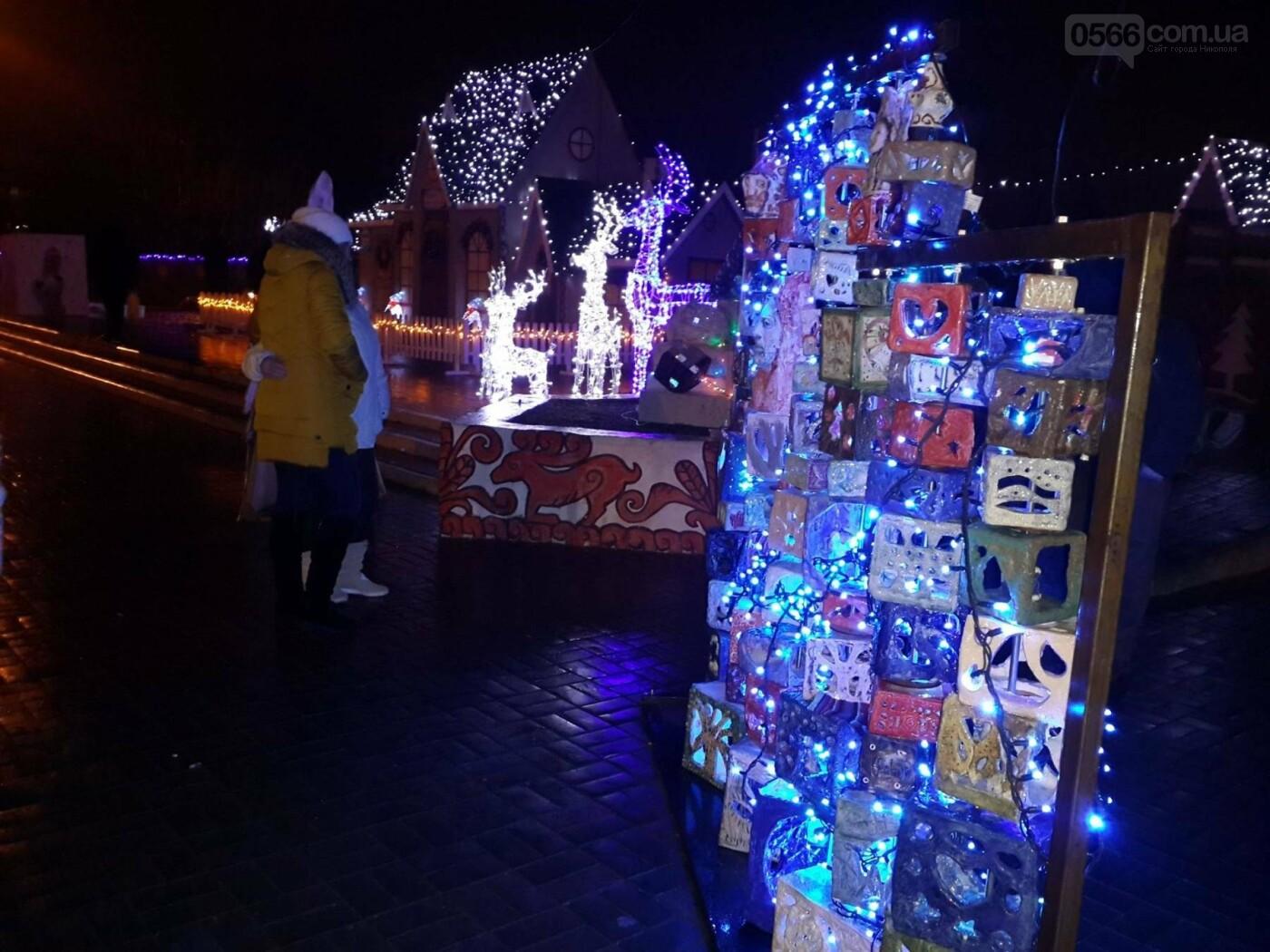 Новорічний «Фонарь-фест» в Нікополі, фото-6