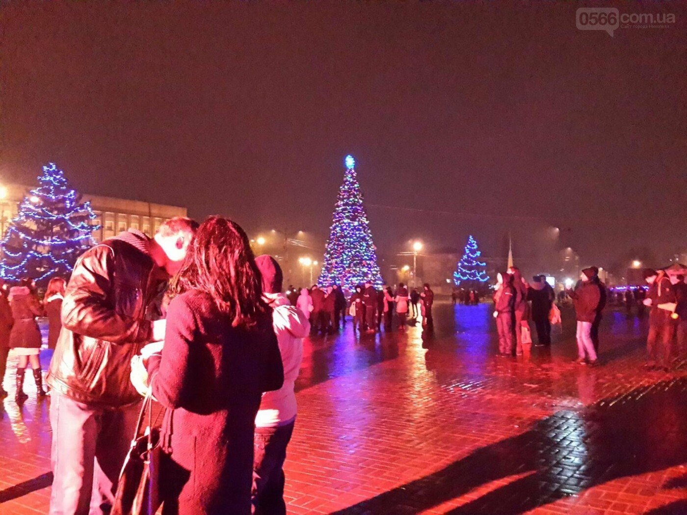 Новорічний «Фонарь-фест» в Нікополі, фото-7