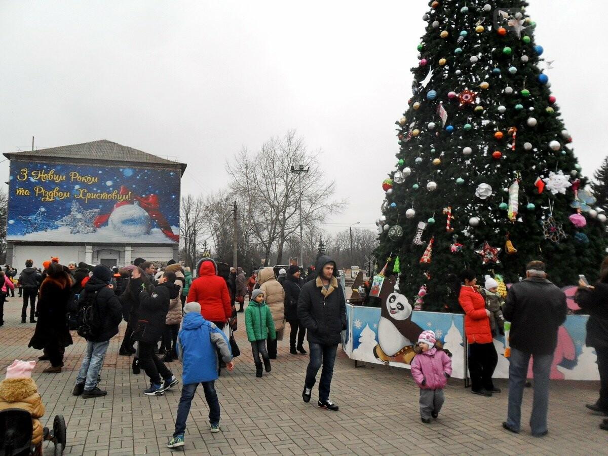 Новогодние праздники под открытым небом в Никополе , фото-7