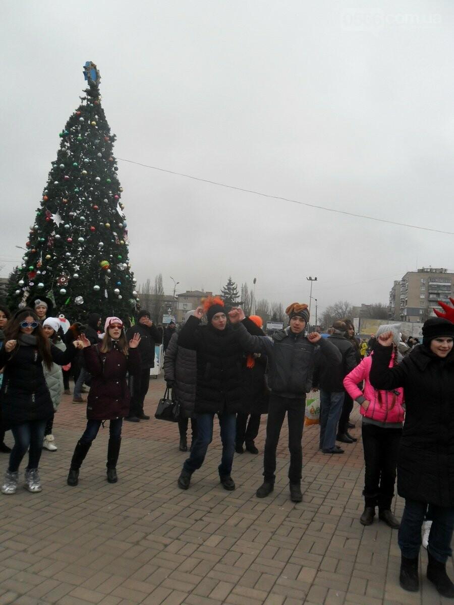 Новогодние праздники под открытым небом в Никополе , фото-12