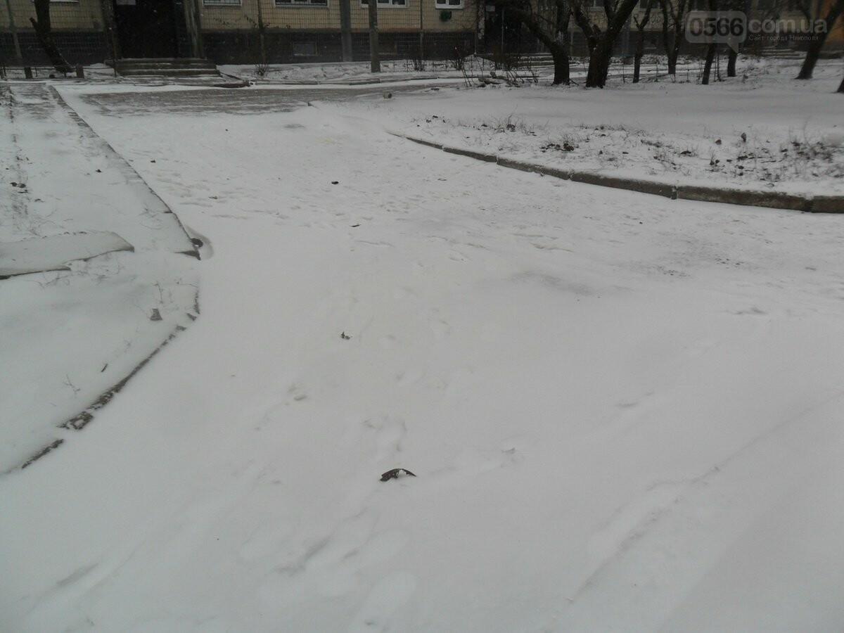 Схоже що Нікополь готовий до зими лише в літку , фото-8