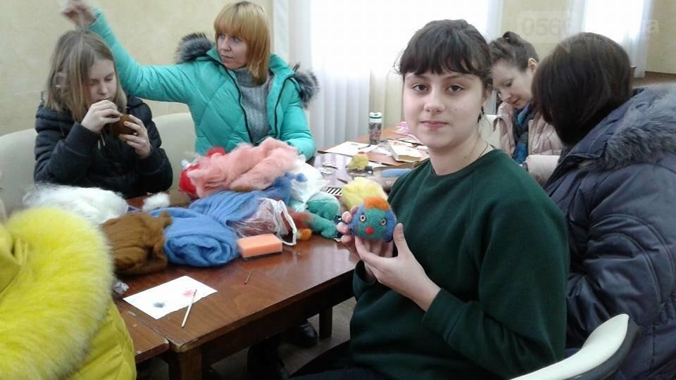 В Никополе прошел мастер-класс по сухому валянию, фото-10