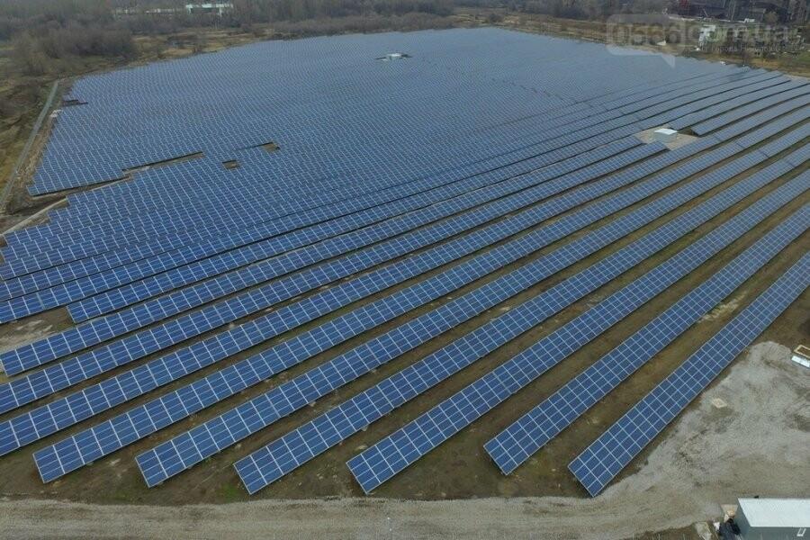 У Нікополі побудували першу сонячну станцію, фото-1