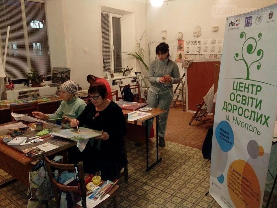 Дорослих нікопольців з нетерпінням чекає гончарна студія та художня майстерня , фото-1