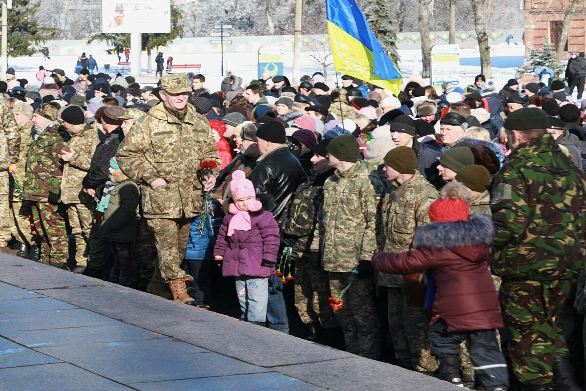 """У Нікополі відбулося  відкриття Меморіалу """"Захисник України"""", фото-2"""