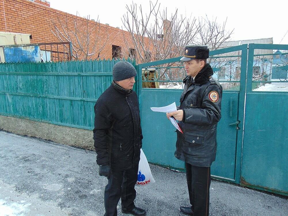 У Нікополі рятувальники провели бесіди щодо дотримання правил пожежної безпеки у зимовий період, фото-2