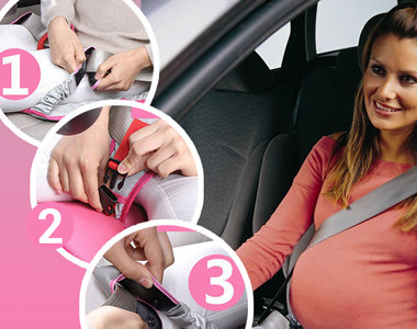 Адаптер ремня безопасности - защита для мамы и будущего наследника!, фото-1