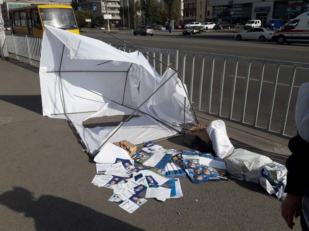 """Вилкул потребовал, чтобы правоохранители дали оценку нападениям на волонтеров Блока """"Украинская перспектива"""", фото-3"""
