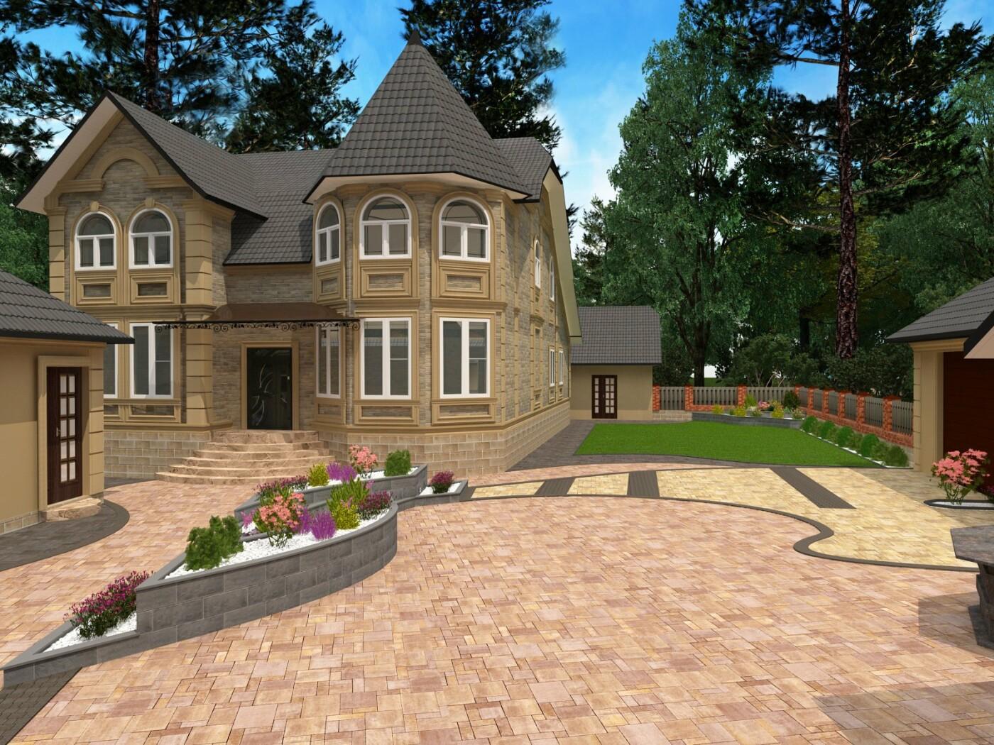 Заказать ландшафтный дизайн, Дизайн-студия Романа Москаленко