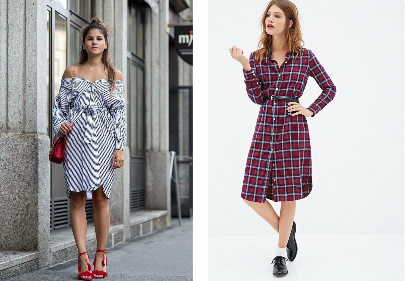 Стильные женские платья рубашки от issaplus